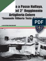 """Da Ferrara a Passo Halfaya. Epopea del 2° Reggimento Artiglieria Celere """"Emanuele FIliberto Testa di Ferro"""""""