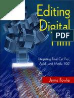 Editing Digital FIlm