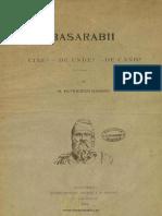 Bogdan Petriceicu Hașdeu - Basarabii - cine, de unde, de când,