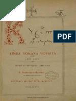 Bogdan Petriceicu Hașdeu - Cuvente den bătrîni. Limba română vorbită între 1550-1600. Studiu paleografico-linguistic. Volumul 1