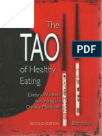 Bob Flaws - The Tao of Healthy Eating Dietary Wisdom According to Chinese Medicine