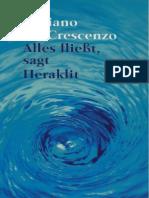 Creszenzo, Luciano - Alles fließt, sagt Heraklit