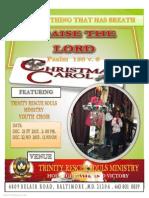 trinity christmas carol flyer