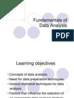 6 Data Analysis