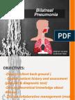 bilatreal pnumonia