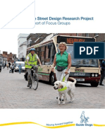 23 Shared Surface Street Design Research Project