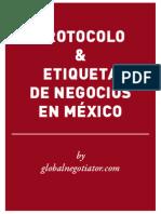 PROTOCOLO EMPRESARIAL EN MÉXICO