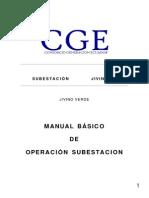 PROCEDIMIENTO DE OPERACIÓN SUBESTACIÓN