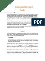 Uttarakhand Service Proejct -Phase-1