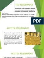 ACEITES REQUEMADOS