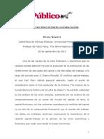 2013 - Navarro, Vicenç - Marx y no solo keynes llevaba razón.pdf