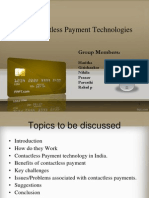 contact less payment technolgy