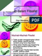 Kuliah 4 Mazhab Dalam Filsafat