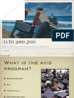 Avid Presentation Introduction