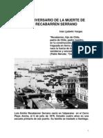 En El 89 Aniversario de La Muerteluis Emilio Recabarren Serrano