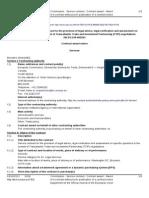Adjudicación de Servicios externos legales para asesoramiento de la UE para el Tratado Transatlántico de Inversión y Comercio (TTIP)