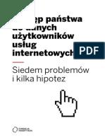 Panoptykon Dostep Panstwa Do Danych Internet 16.12