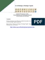 Glosario de Biología y Fisiología Vegetal