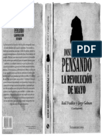 Fradkin y Gelman Revolución de Mayo