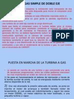 Turbina a Gas Simple de Doble Eje