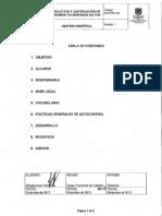 GCF-PR-019 Solicitud y Justificación  de Insumos y o Servicios No Pos