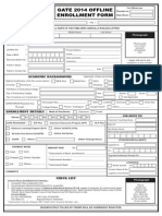 Enrollment Form 2014