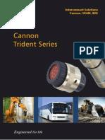 Cannon Trident Series Connectors