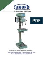Model 9400 Drill Press