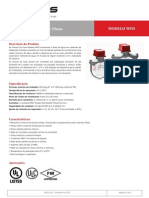 Chaves de Fluxo Modelo WFD