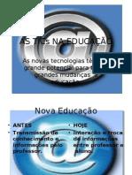 AS TICs NA EDUCAÇÃO
