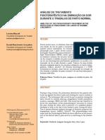 Analise Do Tratamento Fisioterapeutico Na Diminuicao Da Dor Durante o Trabalho de Parto Normal-MAZZALI; GONCALVES-2008