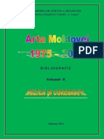 Arta Moldovei Bibliografie