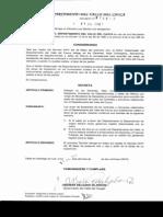 DECRETO ACTAS DE LIQUIDACIÓN JULIO 2013
