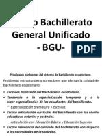 Bachillerato General Unificar