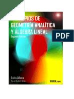 a20130113-Principios Geometria Analitica y Algebra Lineal 2008