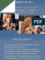 Stereotipuri de Gen