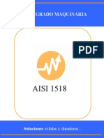 Acero Al Carbono AISI 1518 (Barra Perforada)