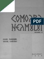 Comoara Neamului - Vol. 6 Colinde, pluguşoare, sorcova, conăcării