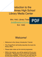 web - easton-oliver ames - webpage powerpoint