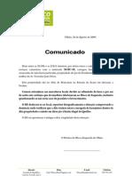 Carta Comunicado