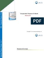 CFA Level 1 Corporate Finance E Book - Part 6