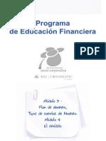 Modulo3.Programa de Educacion Financiera