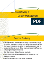 Chapter 3. Service Delivery & Quality Management