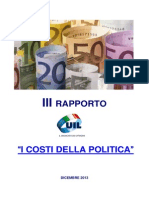 La politica costa 23 miliardi di euro all'anno