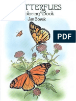 Butterflies - Coloring Bsdfook