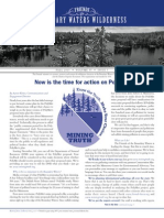 Friends of the Boundary Waters Fall 2013 Newsletter