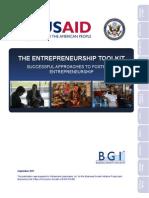 USAID Entrepreneurship Toolkit