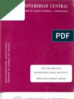 Texto de Ejercicios Regresion Lineal Multiple