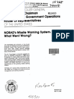 NORAD missle warning system, what went wrong?
