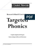 Targeted Phonics Whitepaper